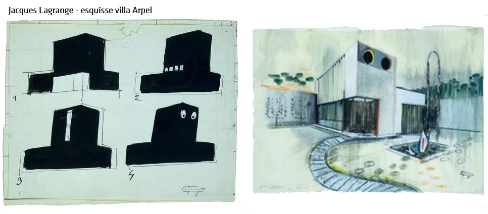 Photogrammes du film Mon oncle, de Jacques Tati