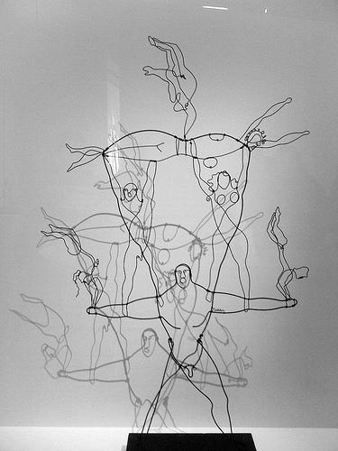 Sculpture d'Alexander Calder : The Strong Man