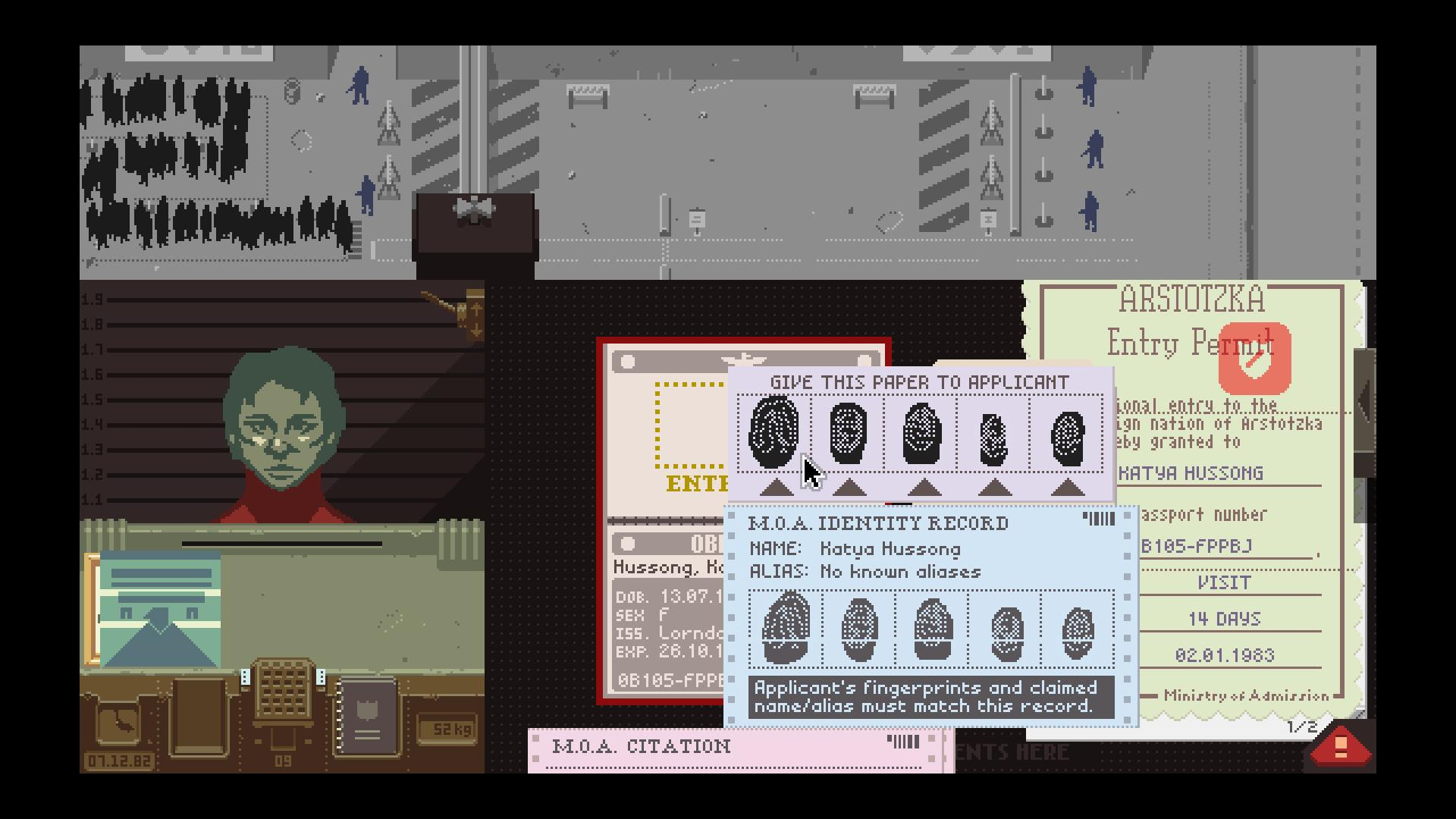 Papers Please © Steam