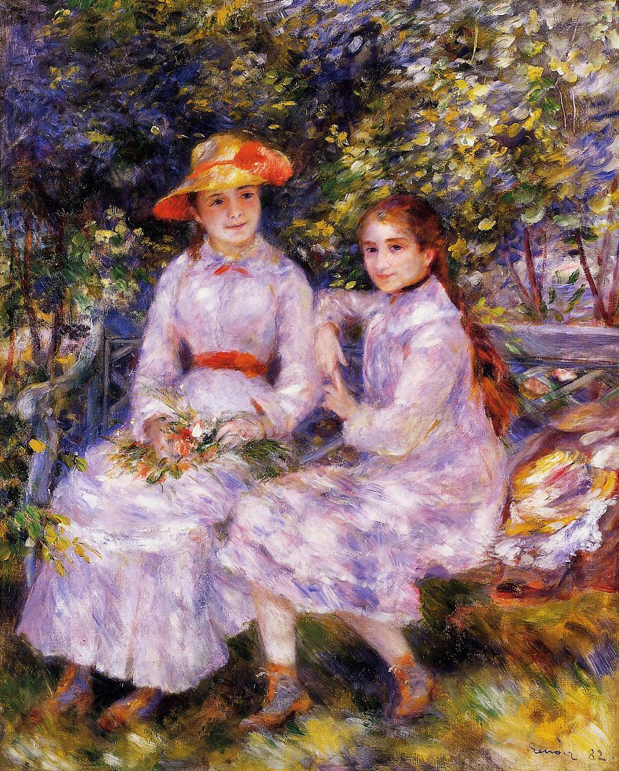 Les Filles de Paul Durand-Ruel, Marie-Thérèse et Jeanne, de Pierre-Auguste Renoir