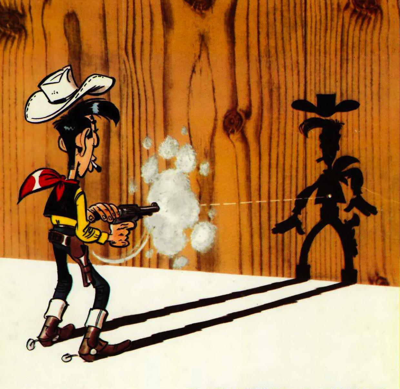 Image extraite de Lucky Luke, de Morris