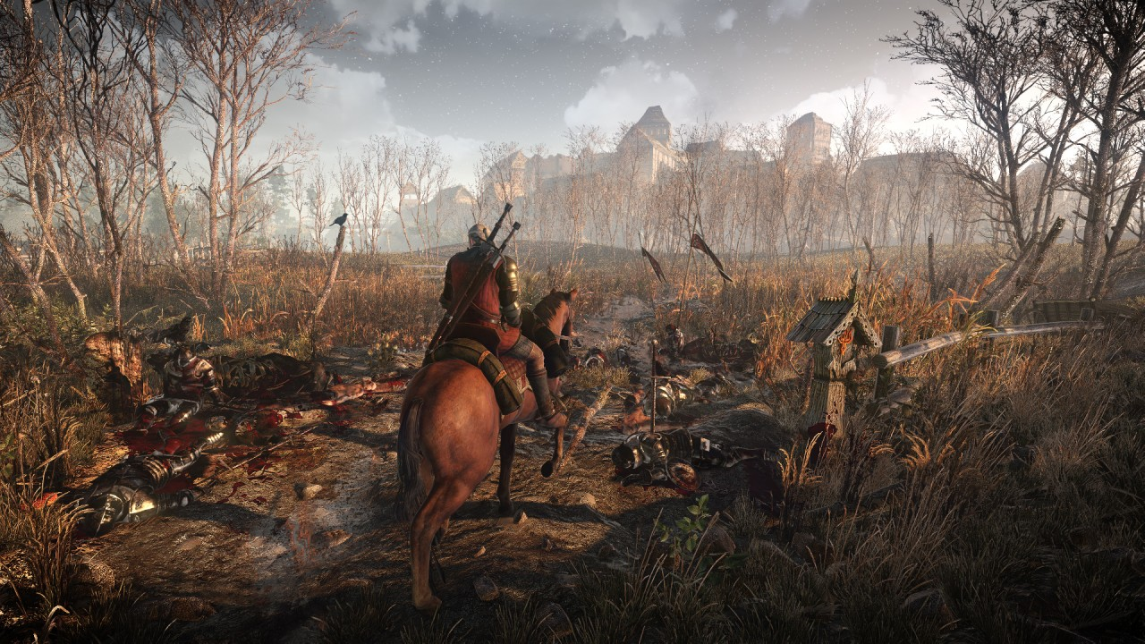 The Witcher 3 © CD Projekt RED / Bandai Namco et alii