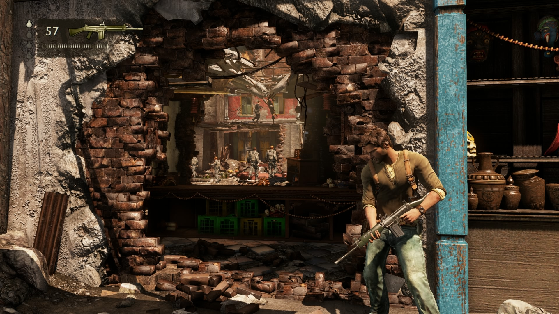 Uncharted 2 -Naughty Dog
