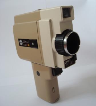 Caméra Super 8 Bencini Comet © Ciclic Mémoire