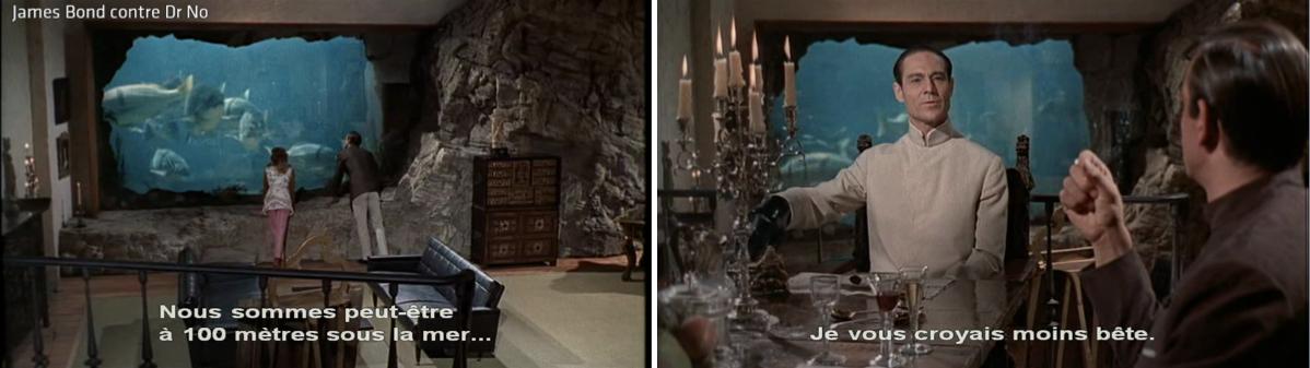 Photogrammes James Bond contre Dr No