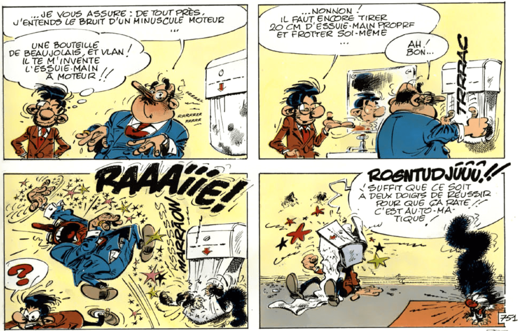 Illustration Gaston Lagaffe 10