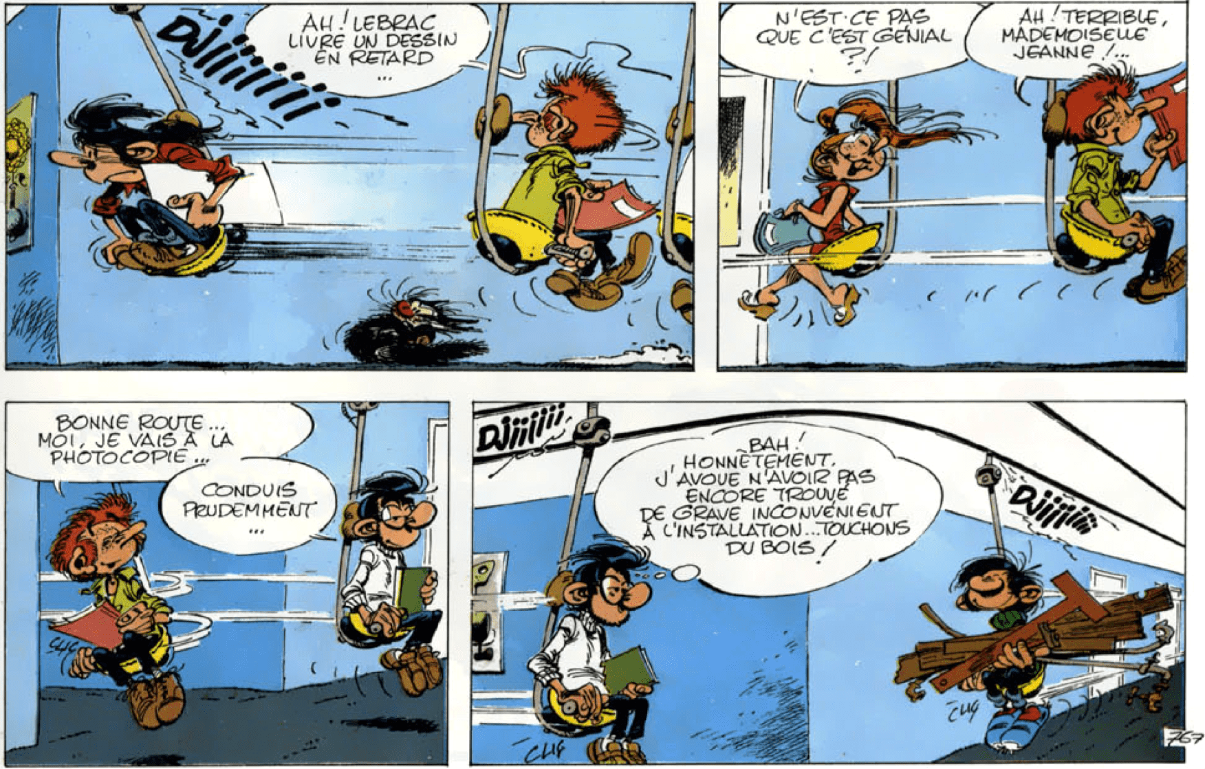 Illustration Gaston Lagaffe 11