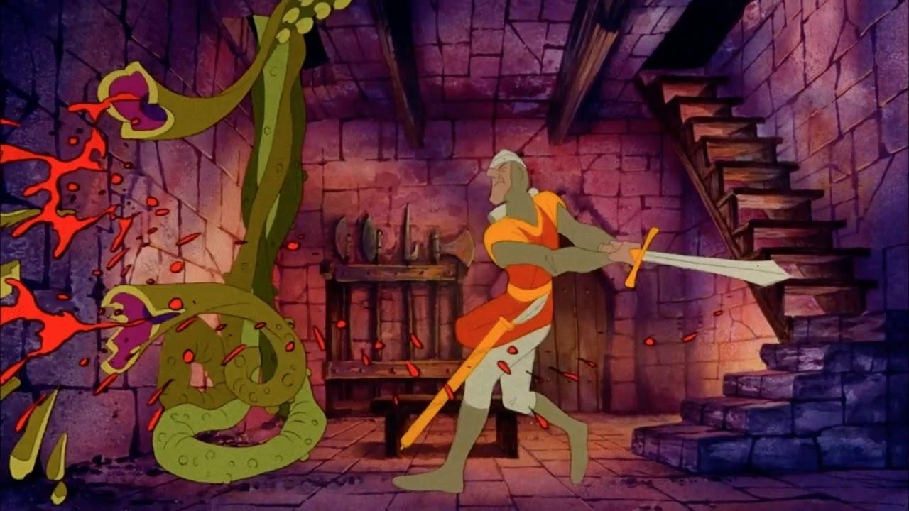Dragon's Lair, Cinematronics, 1983
