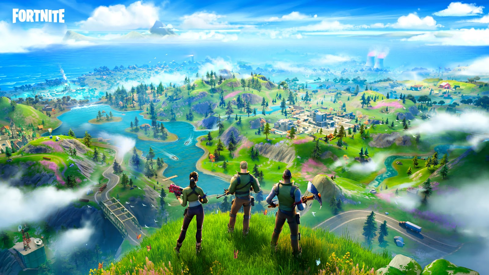 Image promotionnelle, Fortnite, Epic Games, 2017