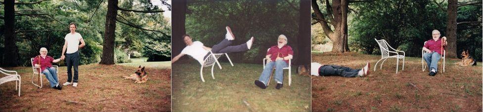 Maurice Sendak et Spike Jonze en 2009