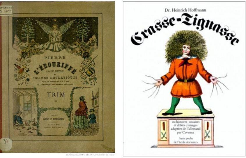 À gauche : Adaptation par Louis Ratisbonne, Hachette, 1866 (1) / À droite : Adaptation de Cavanna, L'école des Loisirs, 1979