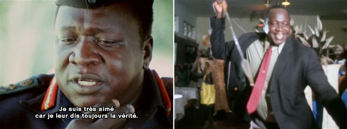 Photpgrammes du film Général Idi Amin Dada, autoportrait, de Barbet Schroeder