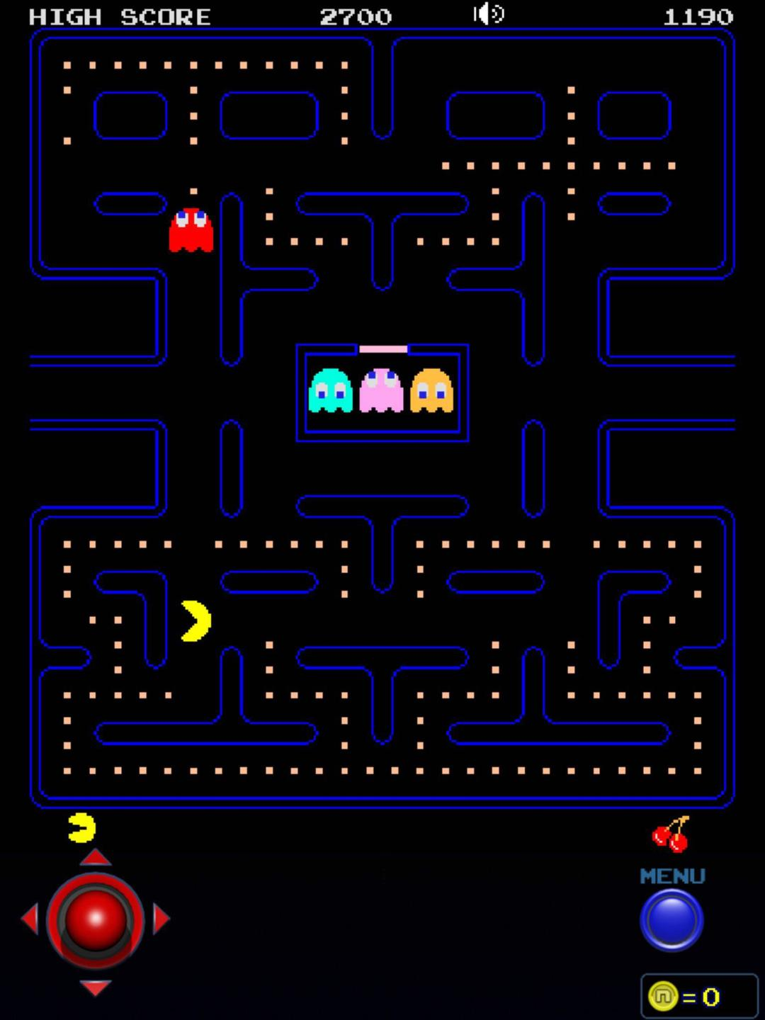 Capture écran Pac-Man © Bandai Namco Entertainment