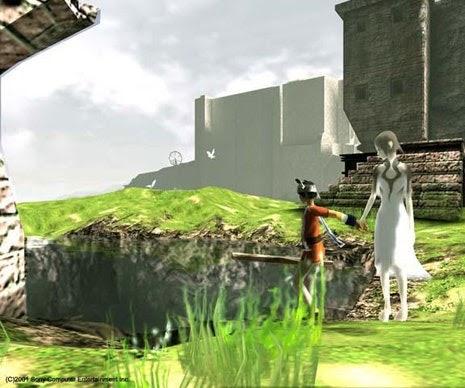 Capture de jeu, Ico, Sony Computer Entertainment, 2001