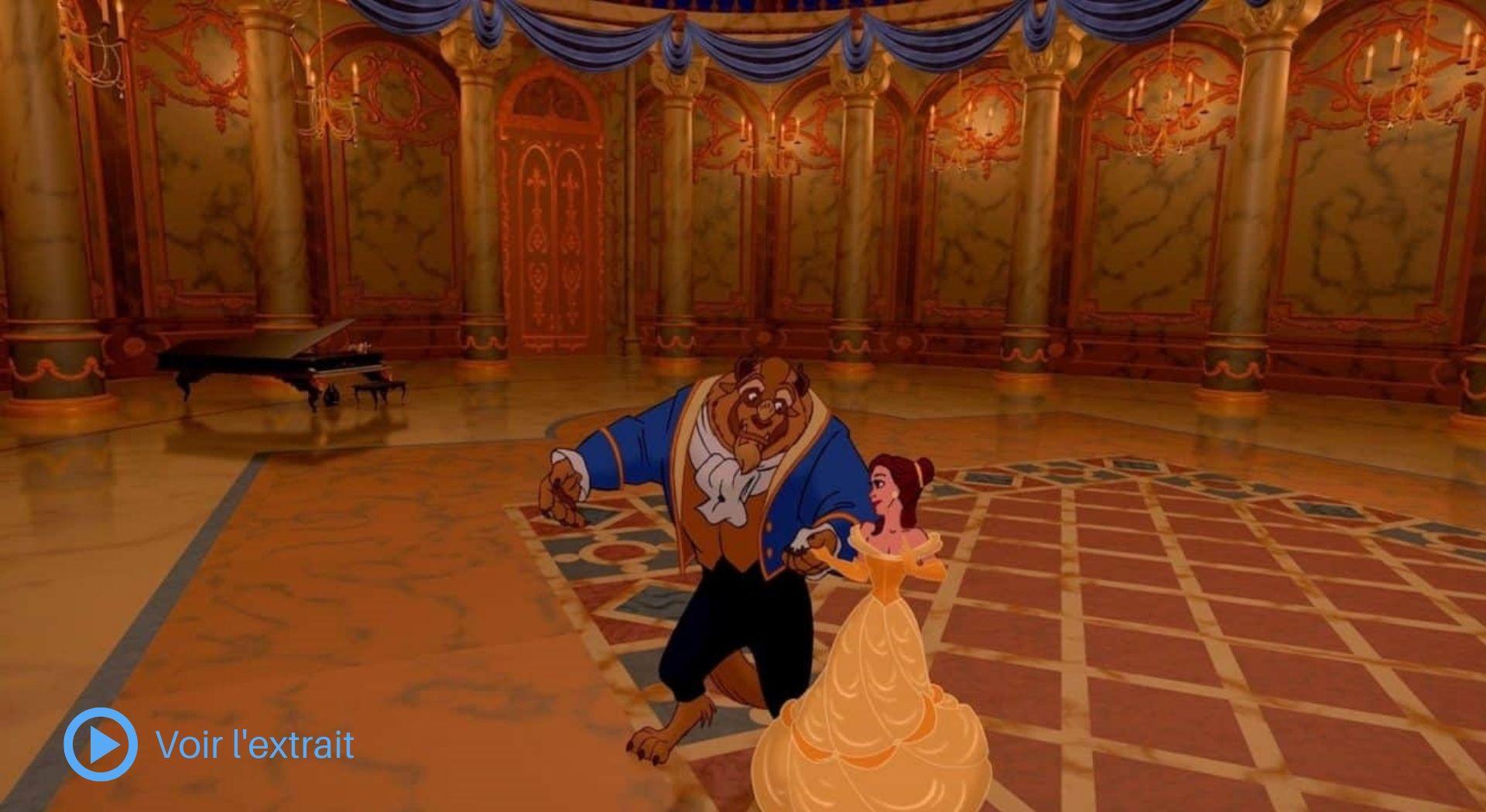 Cinéma d'animation et 3D - L'exemple de La belle et la bête