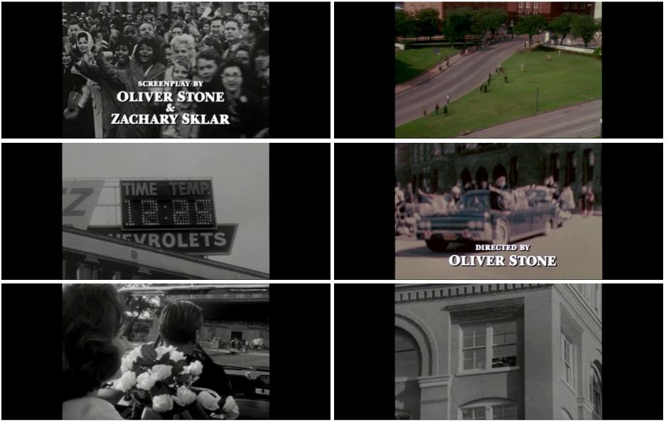 Photogrammes du film JFK d'Oliver Stone