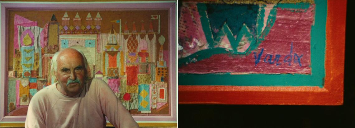 Photogrammes du film Oncle Yanco, d'Agnès Varda
